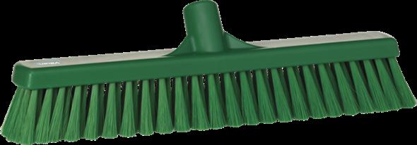 Щетка для подметания пола мягкая, 410 мм, Мягкий ворс, зеленый цвет