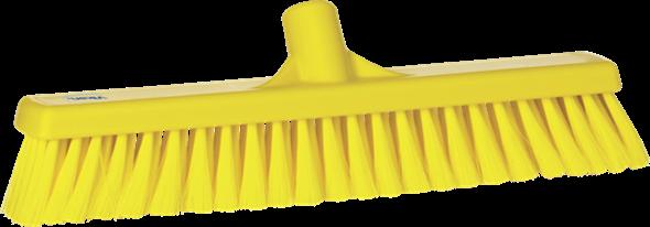 Щетка для подметания пола мягкая, 410 мм, Мягкий ворс, желтый цвет