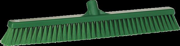 Щетка для подметания пола мягкая, 610 мм, Мягкий ворс, зеленый цвет