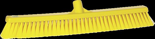 Щетка для подметания пола мягкая, 610 мм, Мягкий ворс, желтый цвет