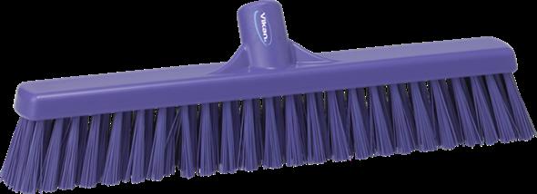 Щетка для подметания пола мягкая, 610 мм, Мягкий ворс, фиолетовый цвет