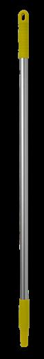 Ручка эргономичная алюминиевая, Ø25 мм, 1050 мм, желтый цвет