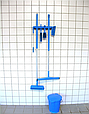 Настенное крепление для 4-6 предметов, 395 мм, черный цвет, фото 2