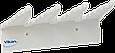 Настенный держатель для инвентаря, 240 мм, белый цвет, фото 2