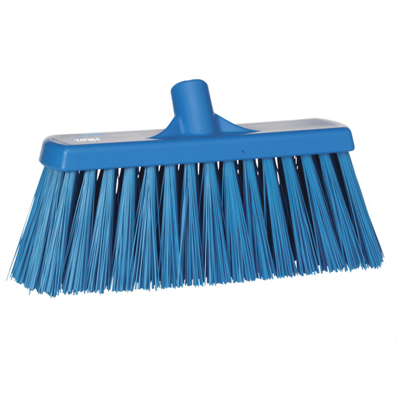 Щётка Vikan для подметания сверхпрочная, 330 мм, синий цвет