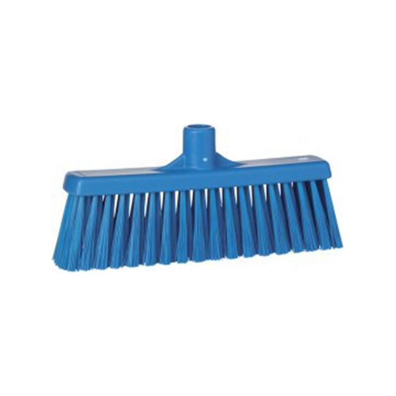Щётка Vikan для подметания с прямой соединительной частью, 310 мм, синий цвет