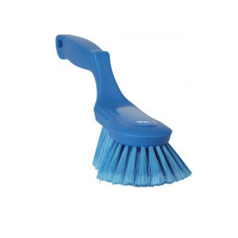 Щетка Vikan ручная эргономичная, 330 мм, синий цвет