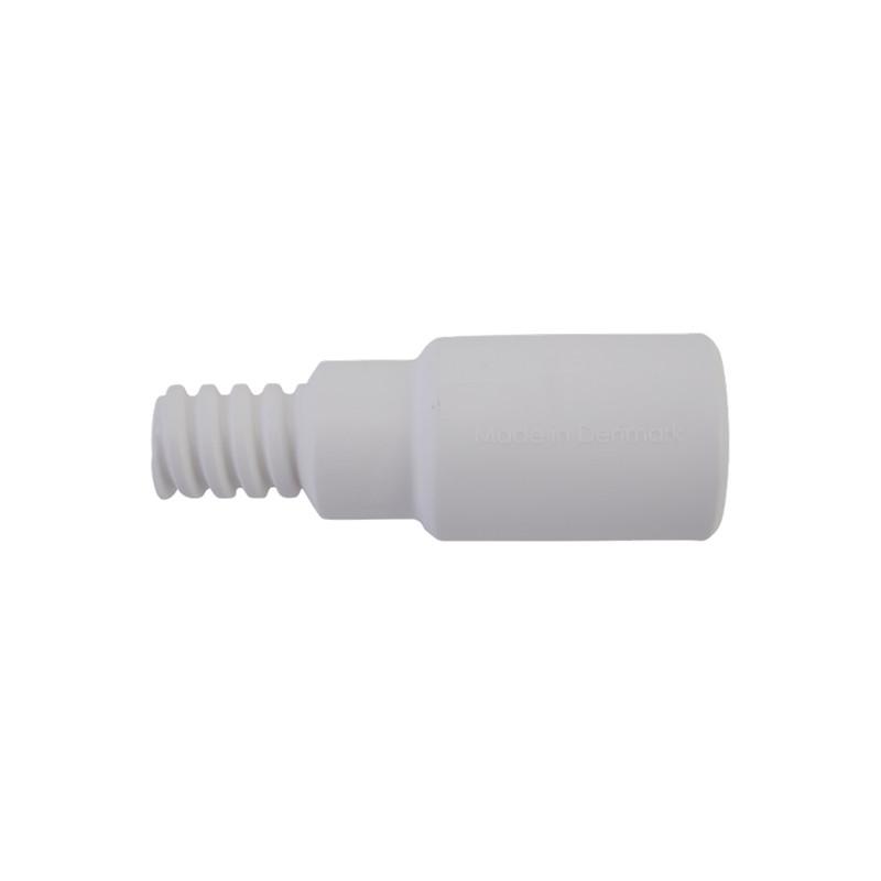Переходник, водопроводный, Ø25 мм, 85 мм, белый цвет