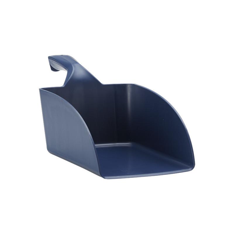 Совок ручной большой из металлопластика Vikan, 2 л, металлизированный синий цвет