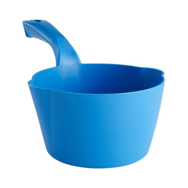 Круглый ковш Vikan, 1 л, синий цвет