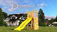 Детская площадка Савушка Мастер 6, игровая башня, пластиковая горка, песочница., фото 1