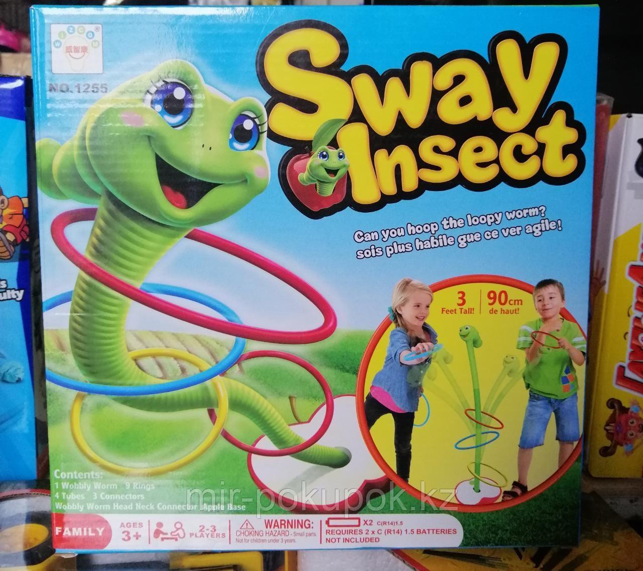 Игра Танцующий Червячок Sway Insect