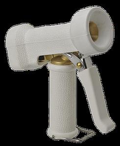 Пистолет для подачи воды, повышенной эксплуатационной надежности, белый цвет