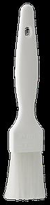 Кисточка кулинарная для выпечки, 30 мм, Мягкий ворс, белый цвет