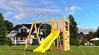 Детская площадка Савушка Мастер 6, с качелями гнездо ., фото 1