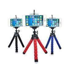 Мини гибкий триног со стандартным винтом 1/4 для телефонов , с пультом управления, фото 2