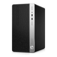 Компьютер HP ProDesk 400 G6 MT i7 9700 (3), 8ГбG 630, DVDRW, 180W, черный