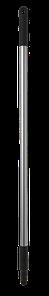 Ручка эргономичная алюминиевая, Ø25 мм, 1050 мм, черный цвет