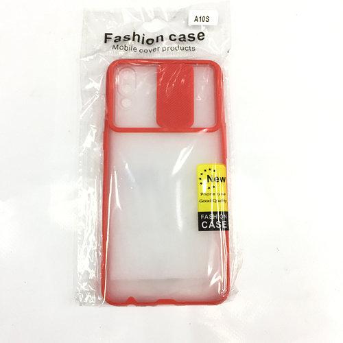 Прозрачный чехол с защитой камеры для Samsung A10s