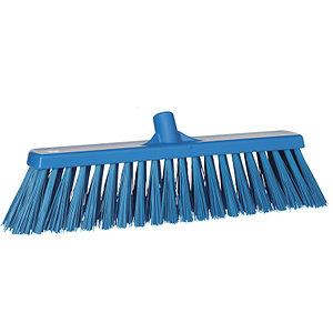Щетка Vikan для подметания сверхпрочная, 530 мм, синий цвет