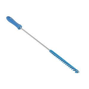 Ерш для чистки труб, Ø10 мм, 480 мм, жёсткий ворс, синий цвет