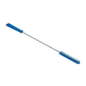 Ерш для чистки труб, Ø20 мм, 500 мм, средний ворс, синий цвет