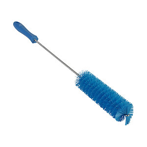 Vikan Ерш для чистки труб, Ø40 мм, 510 мм, жёсткий ворс, синий цвет
