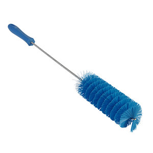 Ерш для чистки труб, Ø50 мм, 510 мм, средний ворс, синий цвет