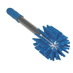 Щетка-ерш Vikan для очистки труб с ручкой, 480 мм, Ø90 мм, синий цвет