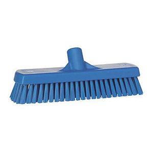 Щетка для мытья полов и стен, 305 мм, жёсткий ворс, синий цвет