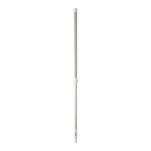 Телескопическая алюминиевая ручка, 1305 - 1810 мм, Ø32 мм, белый цвет
