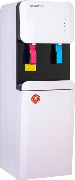 Кулер для воды Aqua Work 105-LDR/SF+F белый-черный