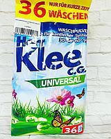 Стиральный порошок Clovin Herr Klee Universal универсальный 3 кг 60 стирок пакет (Германия)