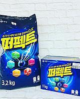 Порошок стиральный концентрированный «Perfect 6 Solution», 3,2 кг