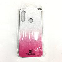 Бело-розовый чехол для Samsug Galaxy Note 8
