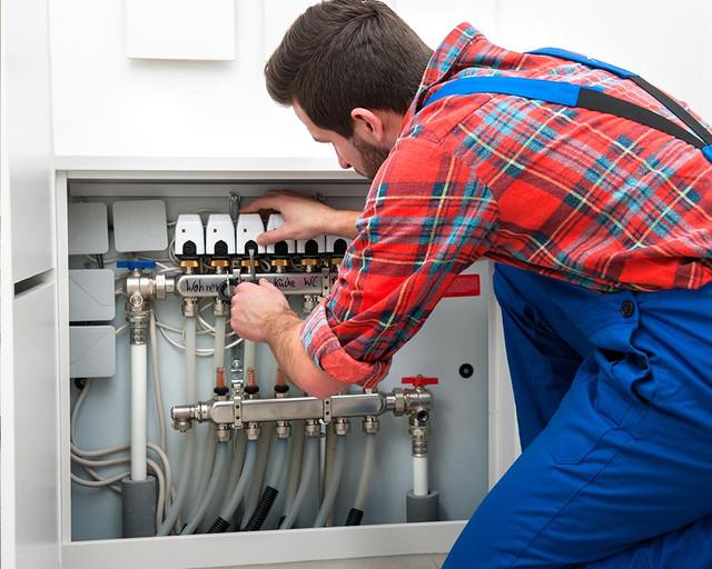 система отопления дома котлом цена
