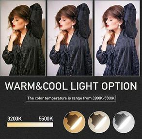 Светодиодная (LED) лампа 85W  для съёмки, фото 2