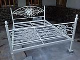 Кровать кованая, фото 5
