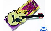 Детская игровая гитара (пластик)