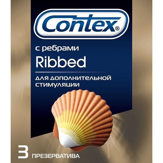 Презервативы Контекс №3 (Пан) ребристые 30*12*3шт