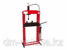 Пресс гидравлический ручной 25 т подвижный поршень OMA655B  Италия