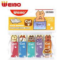 Стикер-индекс WEIBO 5 цв х 20 листов