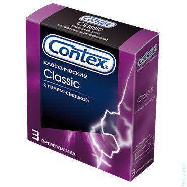 Презервативы Контекс №3 (Пан) Классик  в силик. смазке 30*12*3шт