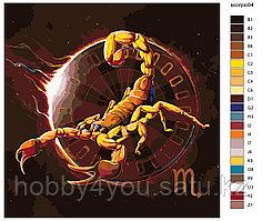 Картина по номерам красками 40х40см