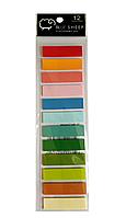 Стикер-индекс Blue Sheep 12 цв х 20 листов
