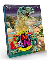Игровой набор для мальчиков Dino 7 в 1 развивающая настольная игра набор для творчества и опытов