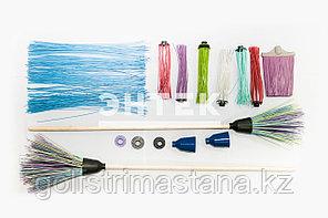 Пластиковые комплектующие для сборки метлы