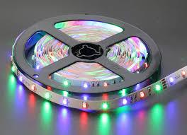 Лента светодиодная RGB с блоком питания LED STRIP