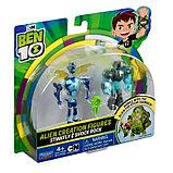 Ben 10 Набор из 2 разборных фигурок и ключа: Жук и Шок Рок , 76782, фото 5