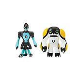 Ben 10 Набор из 2 разборных фигурок и ключа: Молния и Ядро , 76783, фото 4